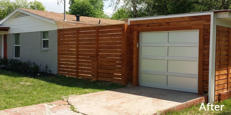 After New Garage Door Installation