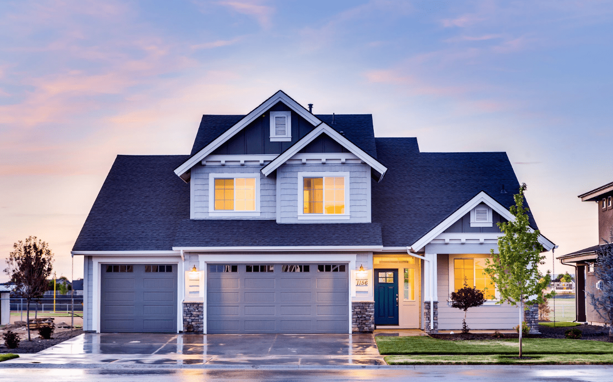 Boost curb appeal with by installing a new garage door